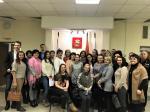 Участники семинара «Организация работы волонтеров для реализации социально-значимых проектов»