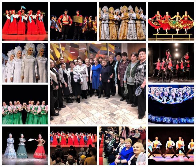 В этом году 14 февраля мы побывали на концерте Государственного академического хореографического ансамбля «Березка»